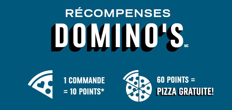 Récompenses Domino's