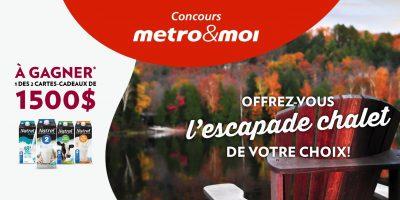 natrel concours metro carte cadeau visa 1