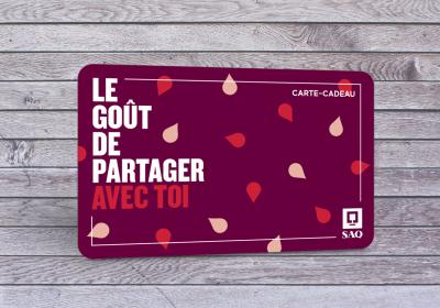 carte cadeau SAQ concours