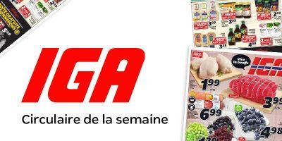 Circulaire IGA Quebec