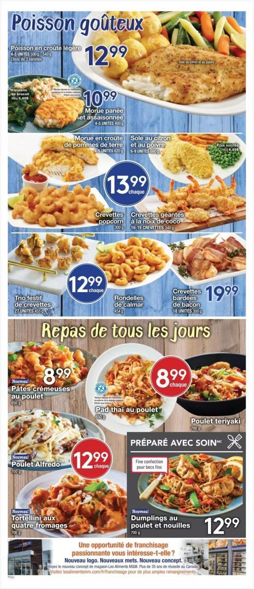 02 - Circulaire Les Aliments M  M 16 janvier – 22 janvier 2020