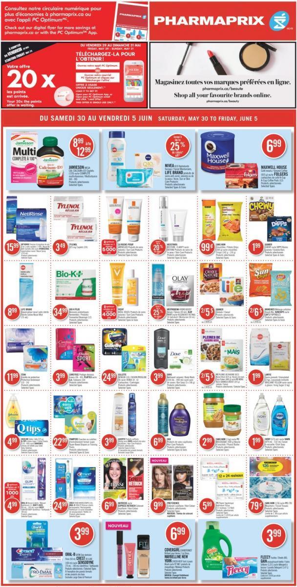 02 - Circulaire Pharmaprix 30 mai – 5 juin 2020